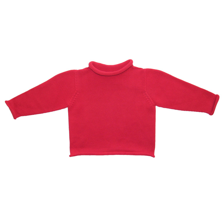 Red Rollneck Sweater