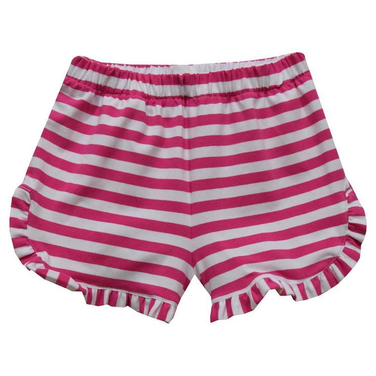 Hot Pink Stripe Shorts