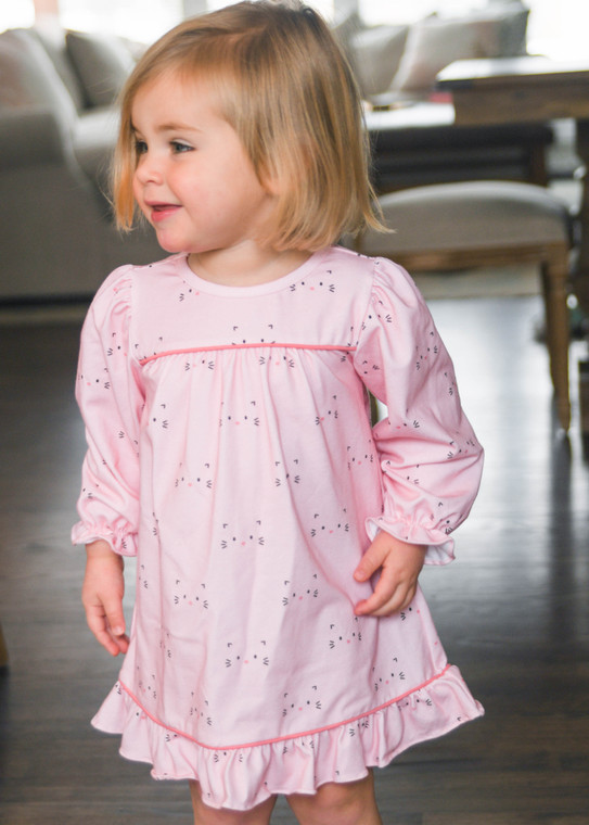 Pink Cat Nightgown