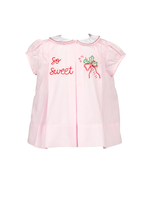 So Sweet Embroidered Dress