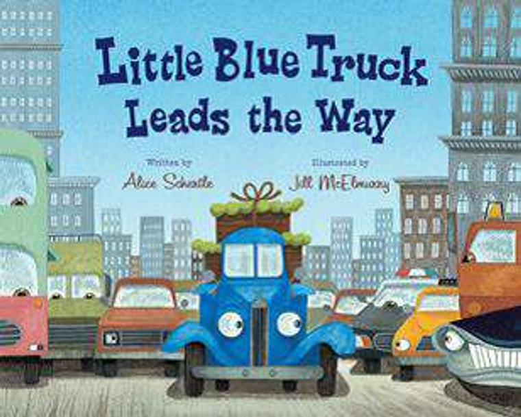 Little Blue Truck Leads the Way-BB