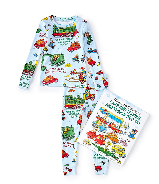 Cars and Trucks PJs with Book