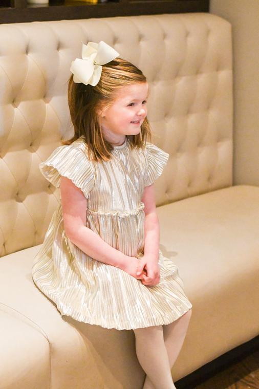 Gold Gigi Dress