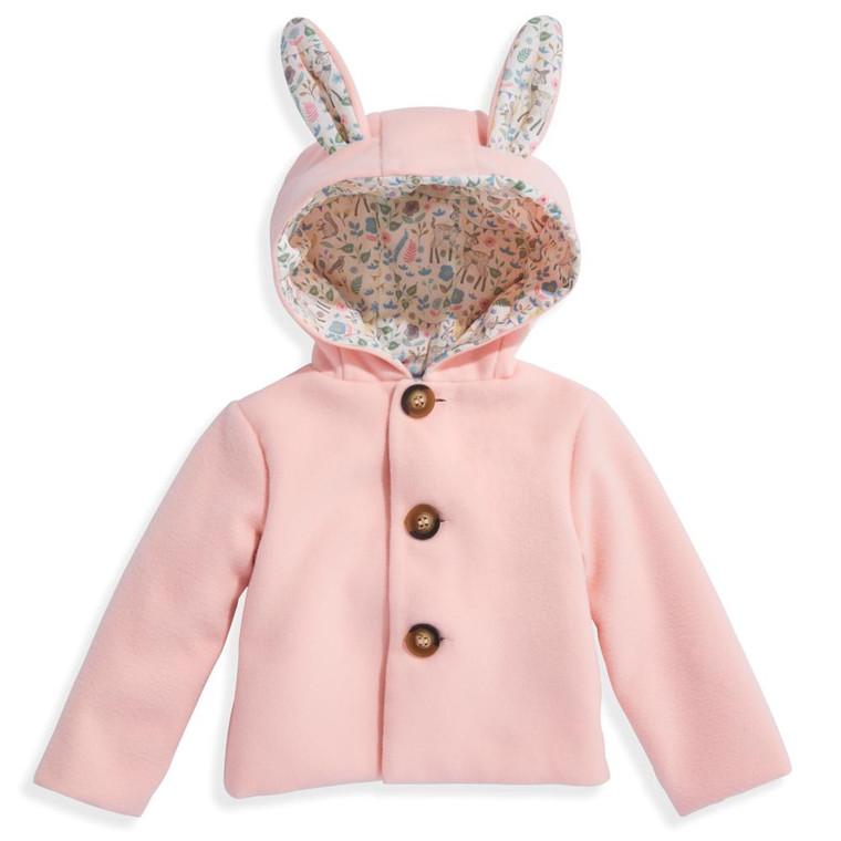 Pink Bunny Coat