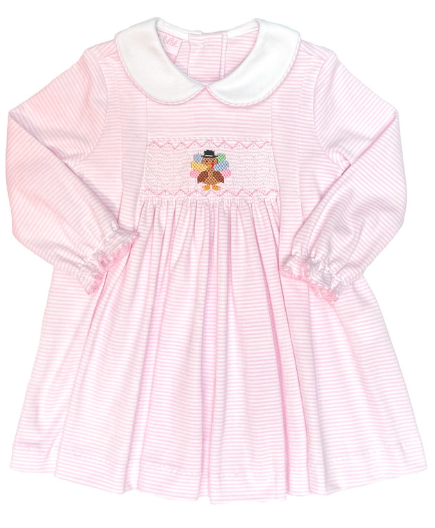 Pink Knit Turkey Dress