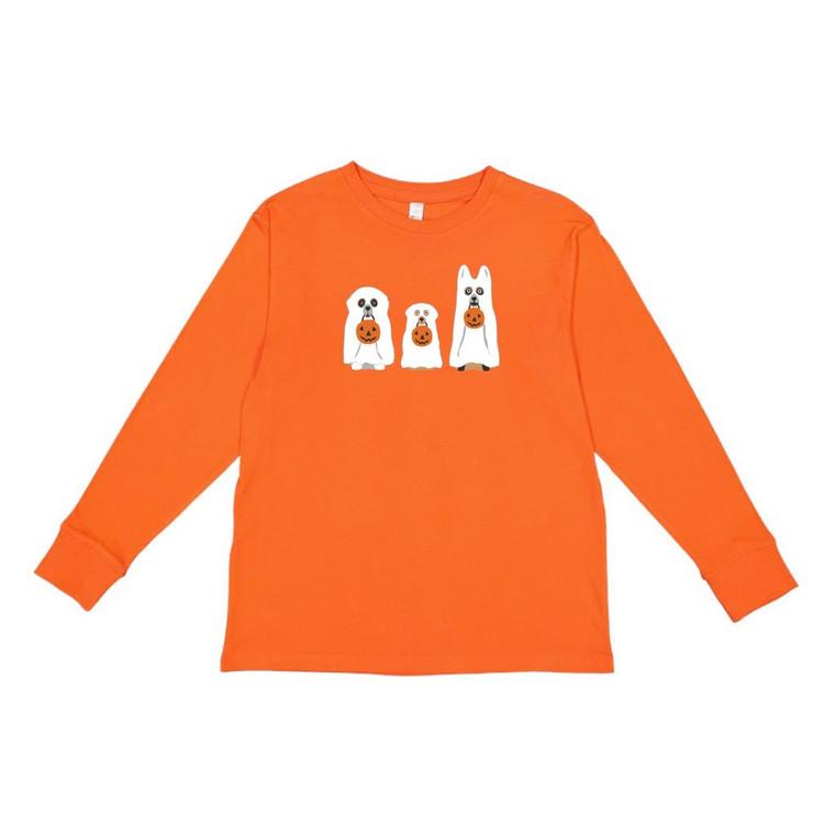 Orange Boo Dogs Tee