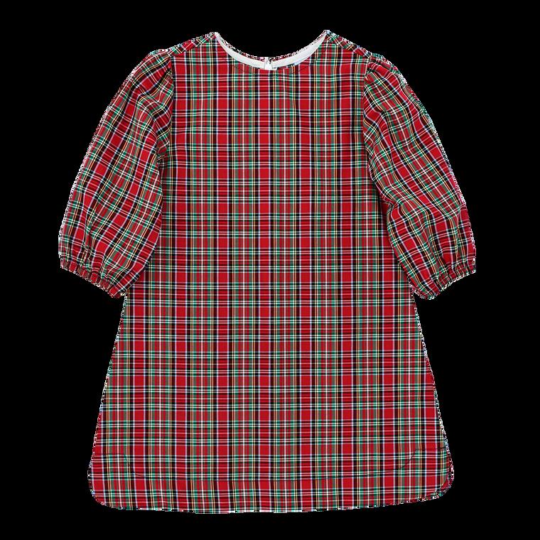 Red Tartan Plaid Tunic