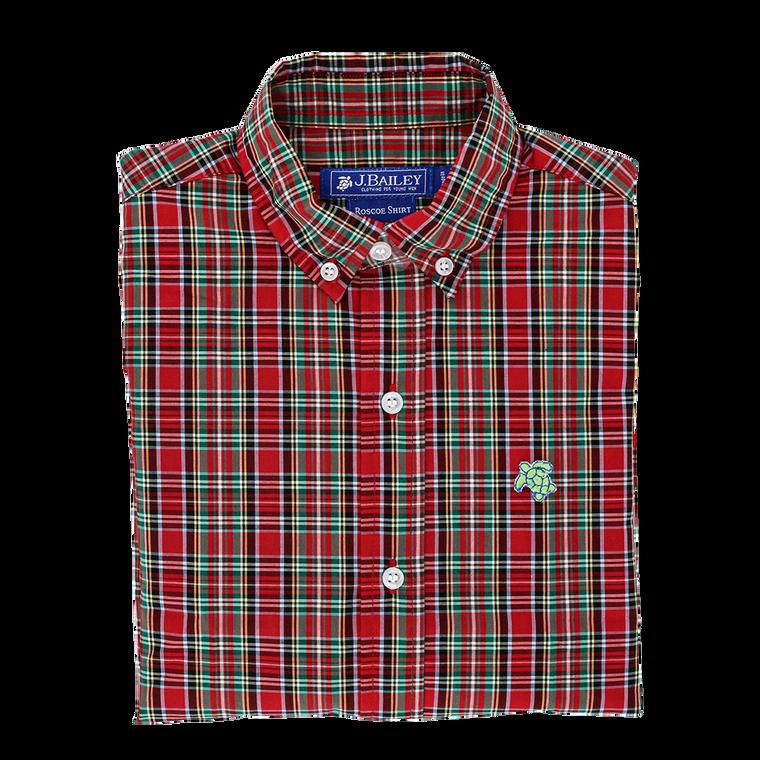 Red Tartan Roscoe Shirt