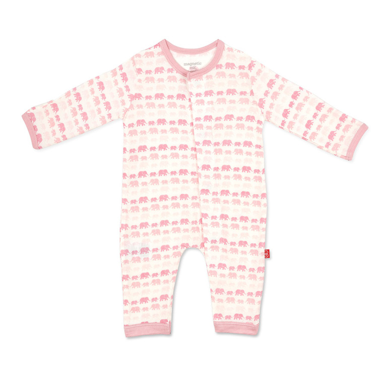 Pink Elephant Coverall