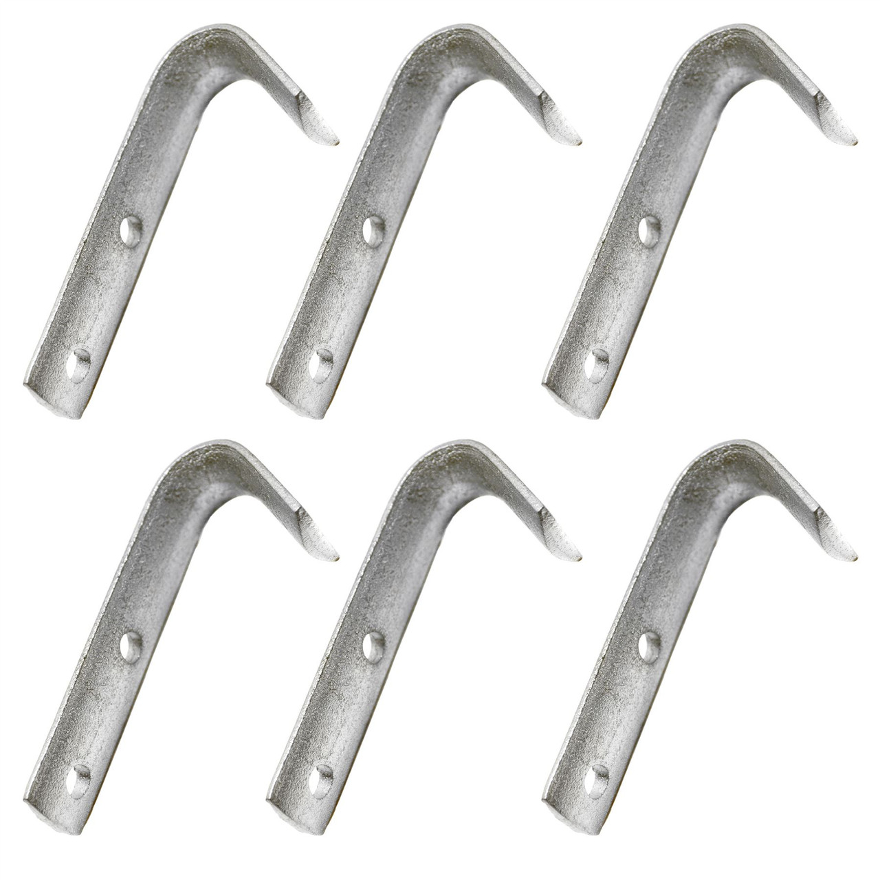 Bolt On Rope Hook / Tie Down Point Heavy Duty Cast Trailer Cover PACK 6 DK15_6PK