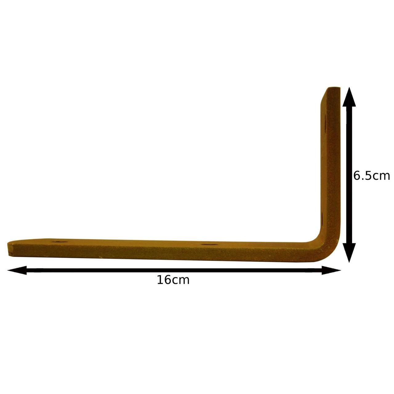 S Trailer Mudguard Angle Bracket HEAVY DUTY 90 degree Corner Brace PAIR TR083