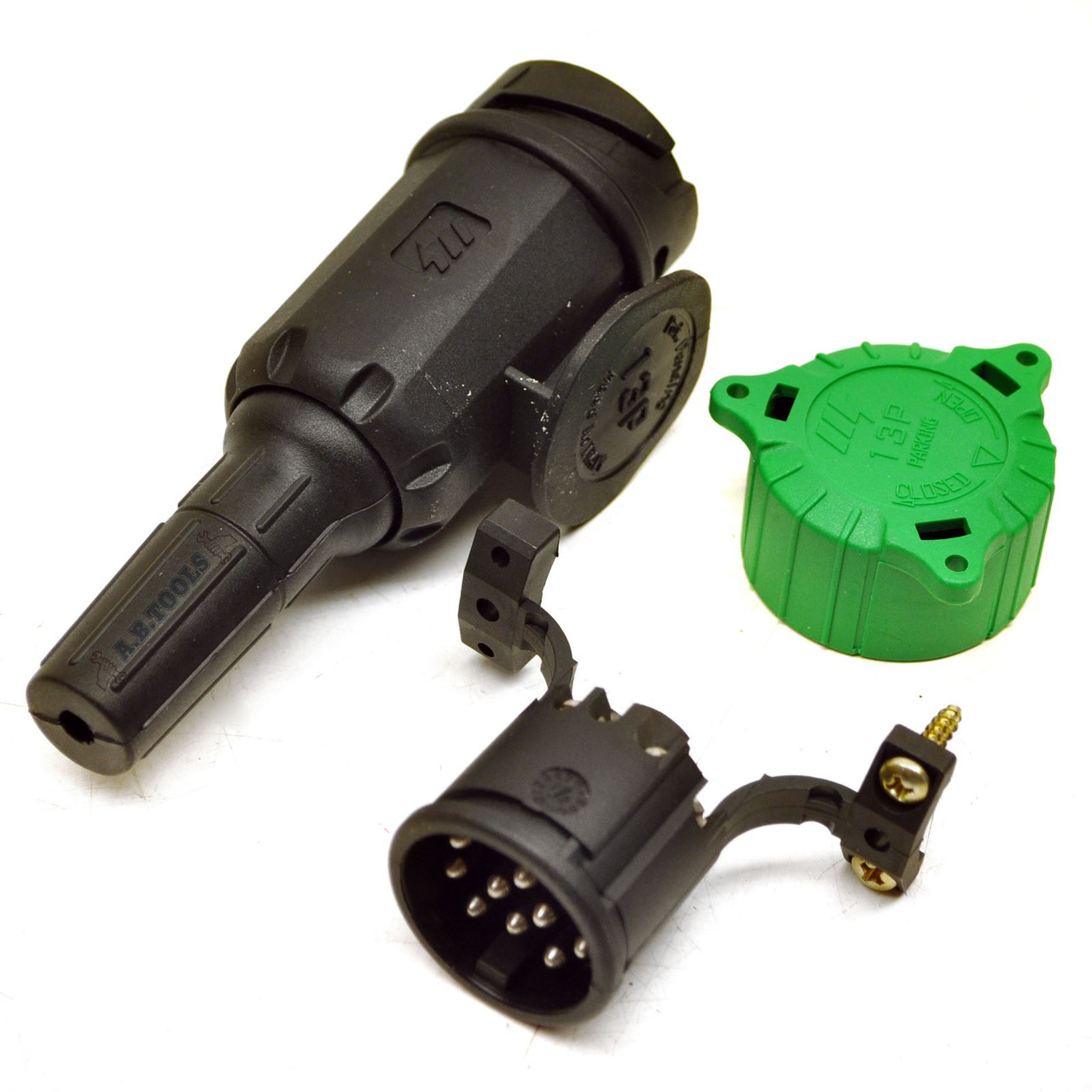 13 PIN Plug for Trailers and Caravans Electric Wring Plug TR135
