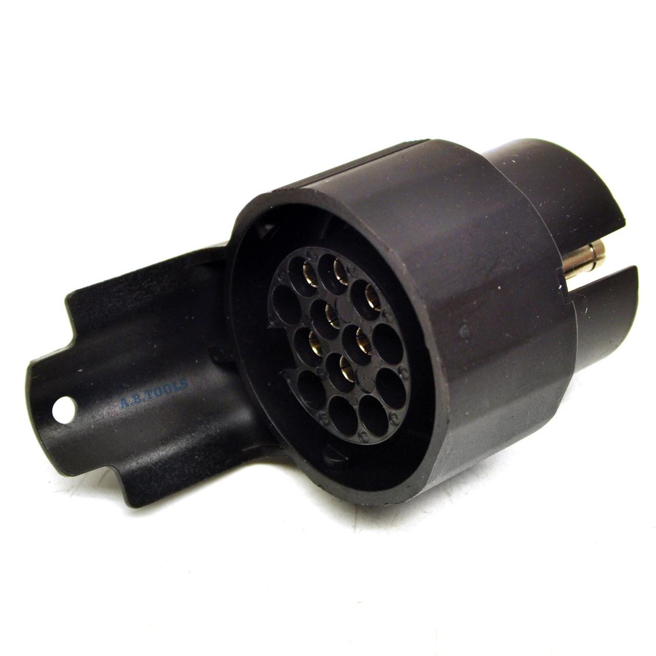 13 Pin Trailer Plug to 7 Pin Car Socket Wiring Adapter TR139