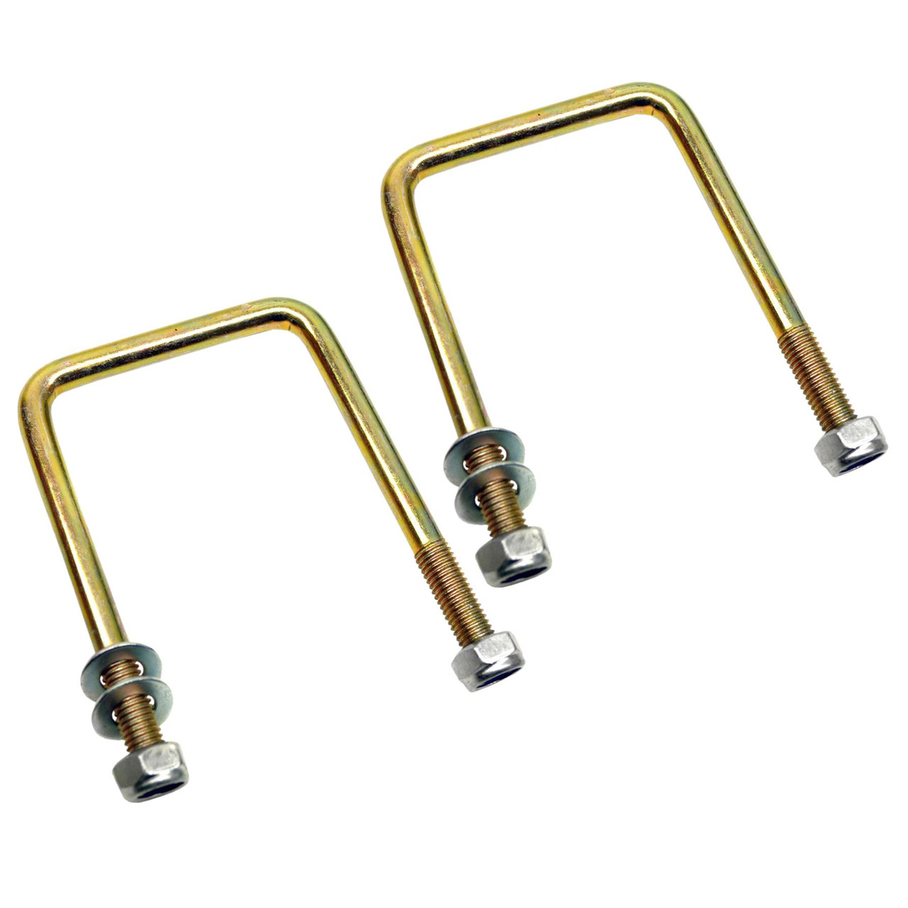 M10 70mm x 100mm UBolt / NBolt for Trailer 1 PAIR with Nuts HIGH TENSILE UBR11