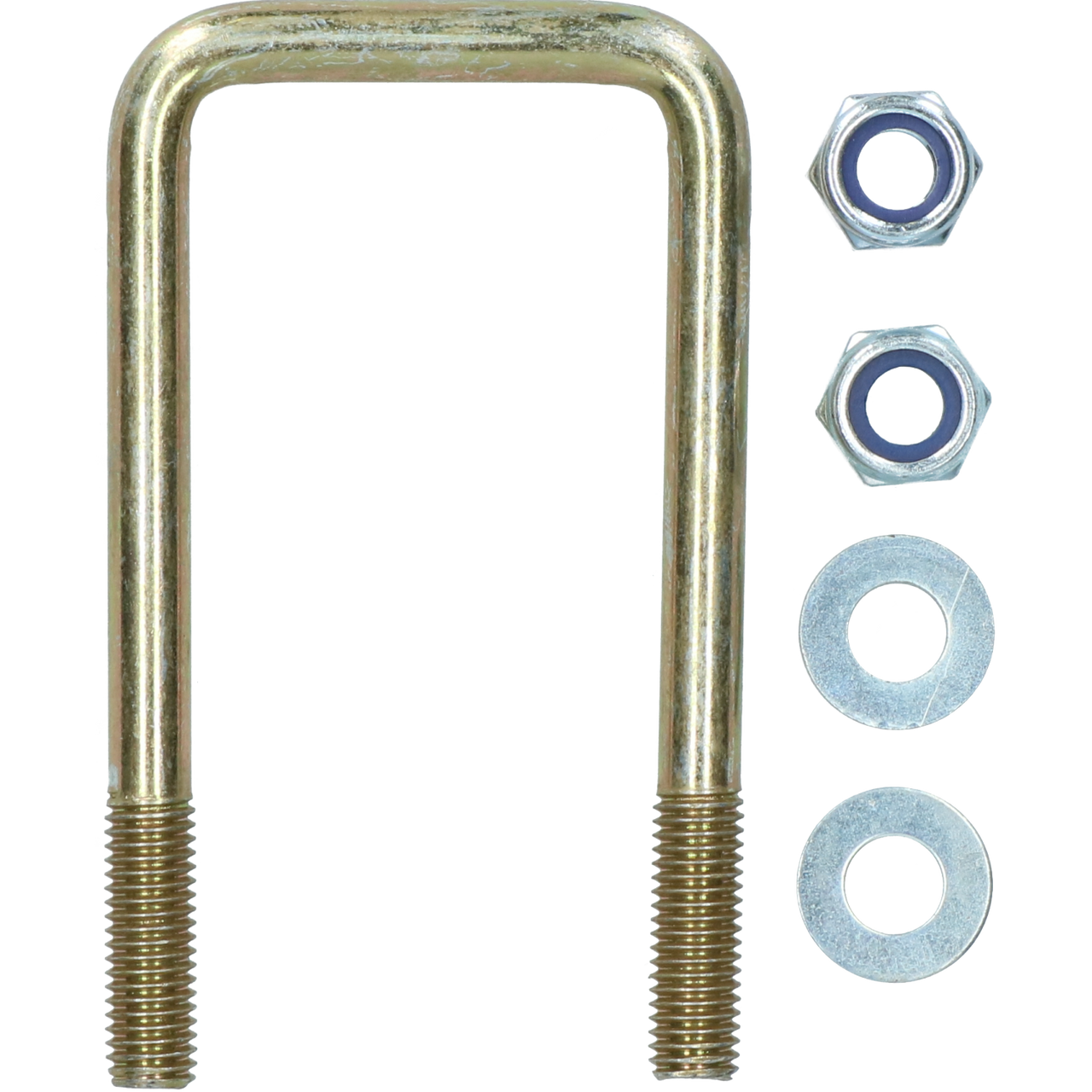 M10 50mm x 100mm UBolt / NBolt for Trailer 1 PAIR with Nuts HIGH TENSILE UBR06