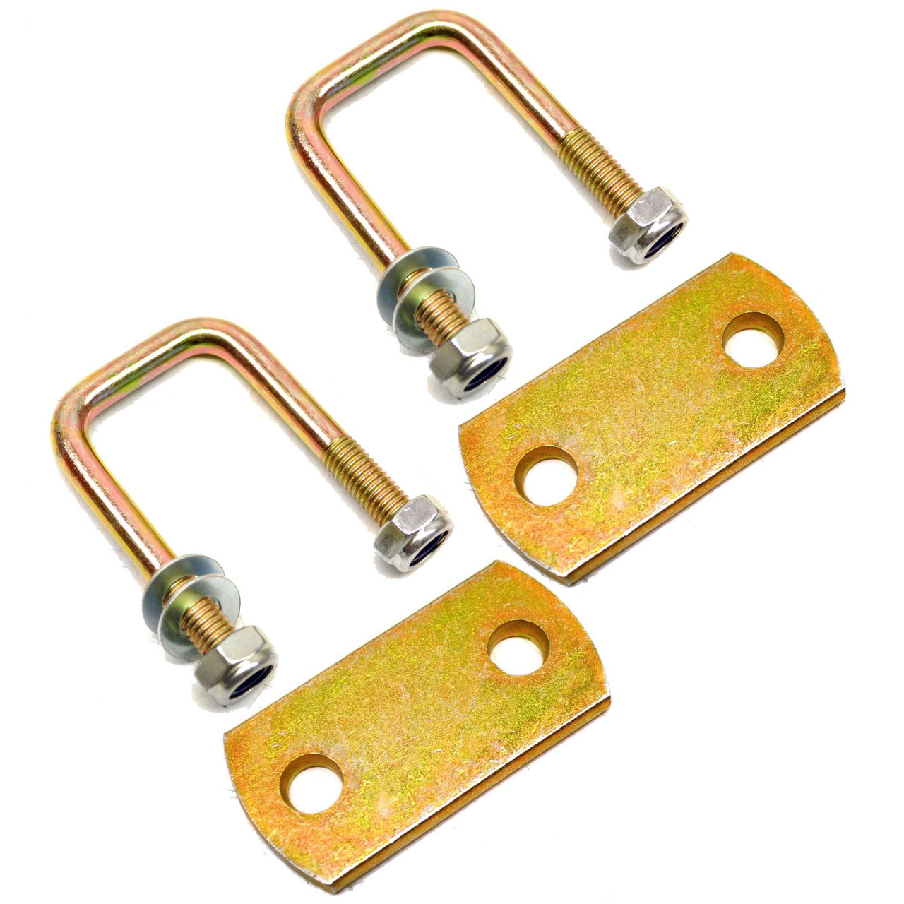 M10 40mm x 70mm UBolt NBolt 1 PAIR with Plates and Nuts HIGH TENSILE UBR01/04