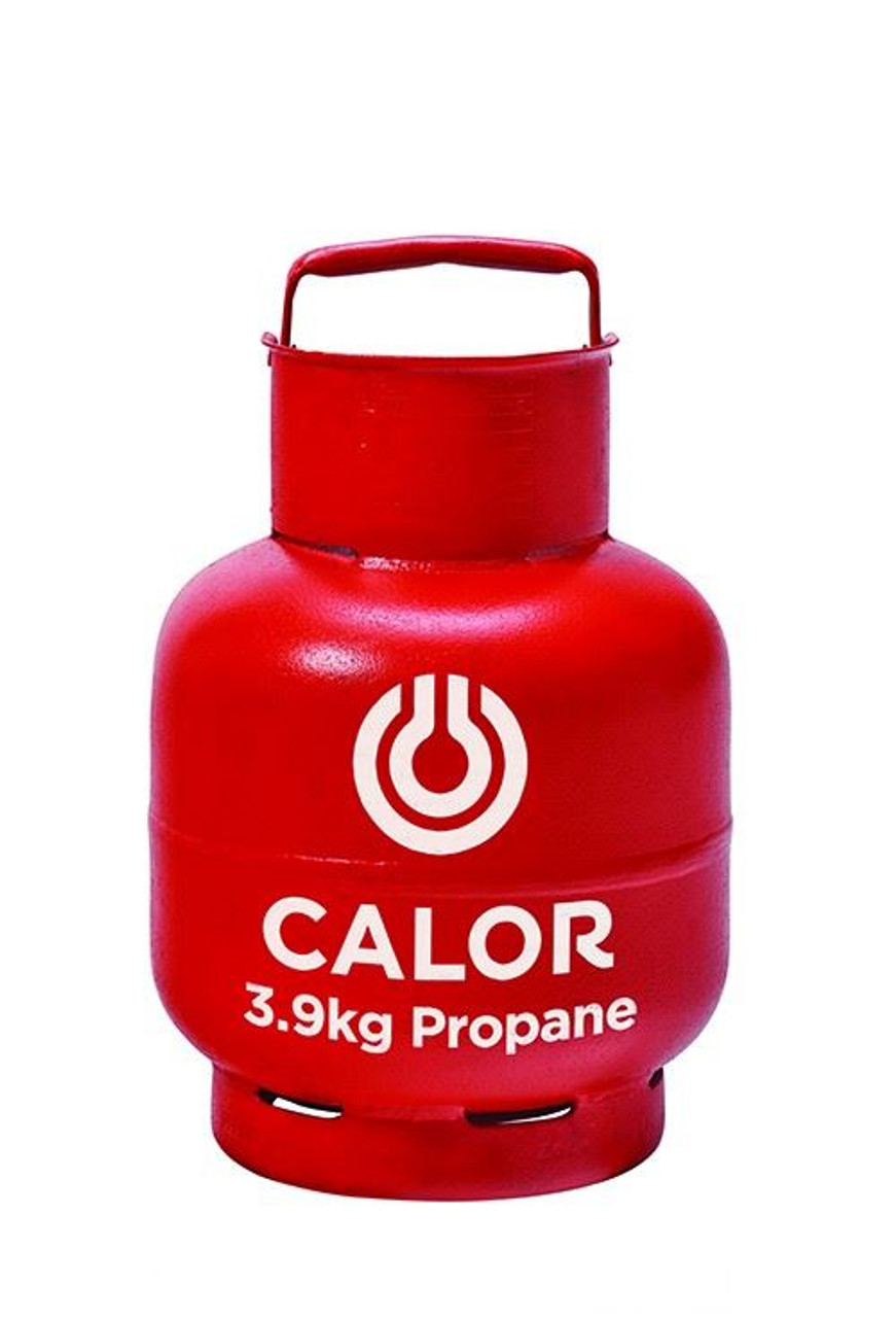 3.9kg Propane Calor Gas Bottle (Red - Collection Only)