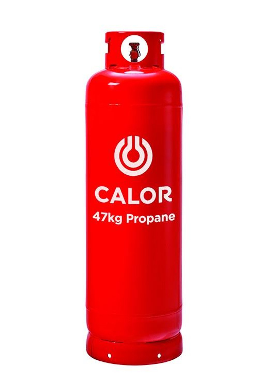 47kg Propane Calor Gas Bottle (Red - Collection Only)