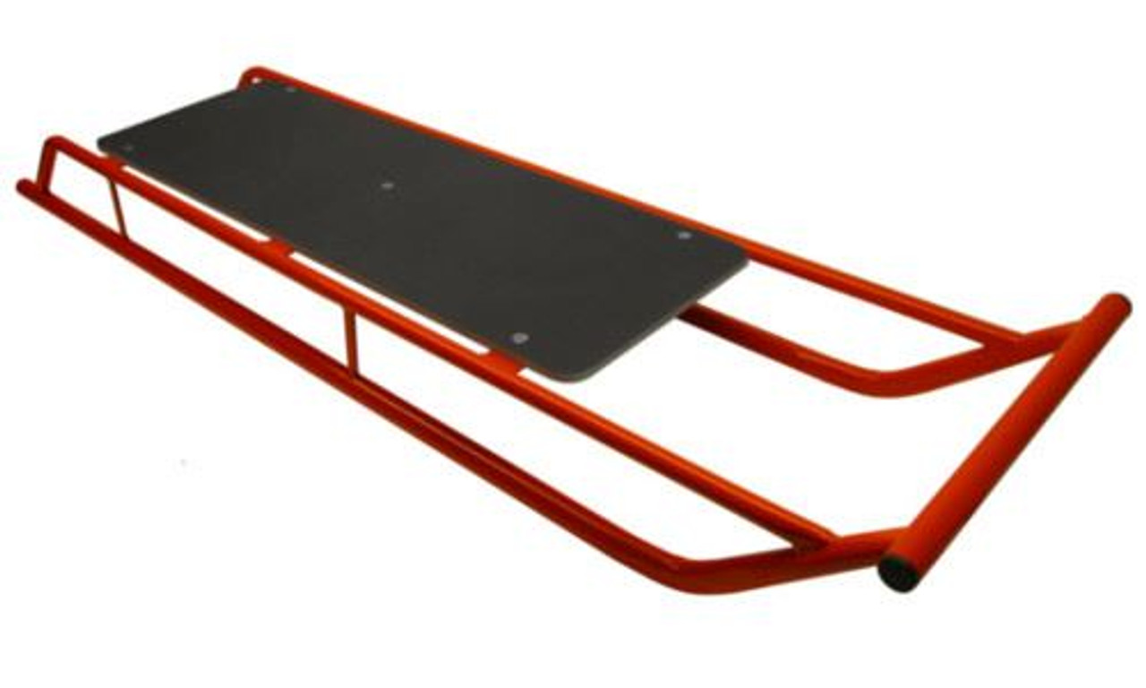 Snow Sledge / Toboggan / Sleigh with Wooden Top Bobsled / Bobsleigh TWIN VERSION