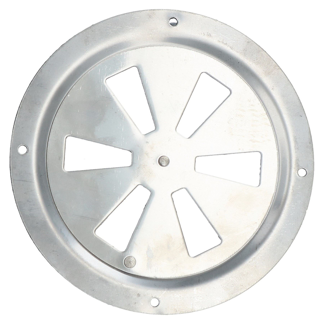 Air Vent Ventilator Grill Round Closeable Polished Stainless Steel Marine Grade