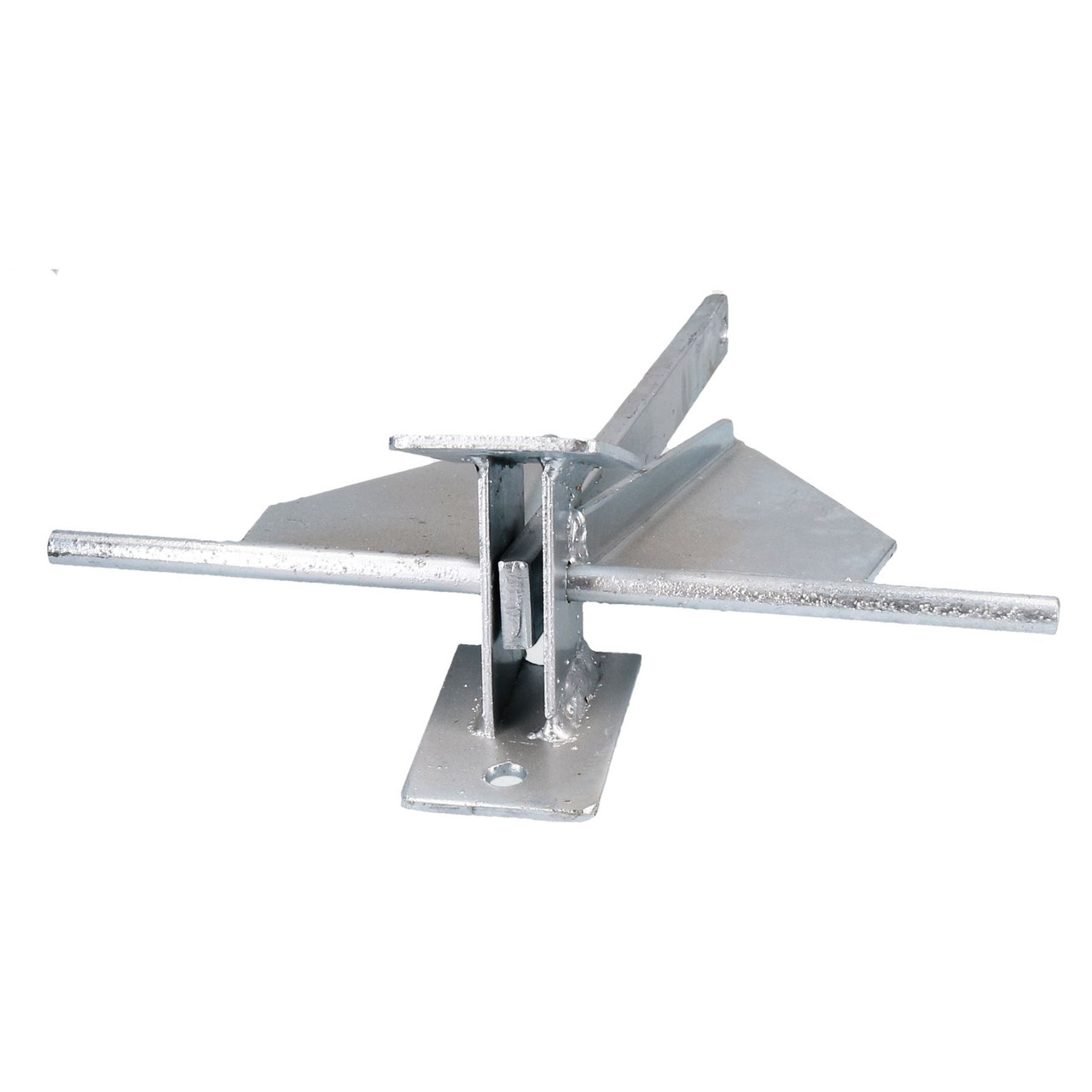 Crown Stock Spade Cruising Anchor 4.5kg Galvanised for Medium Boats / Yachts