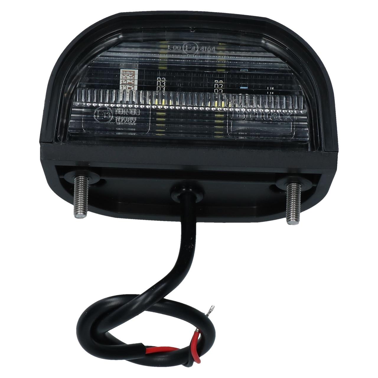 Genuine Britax LED Number Plate Light Lamp Trailer Caravan Classic Car 12v 24v