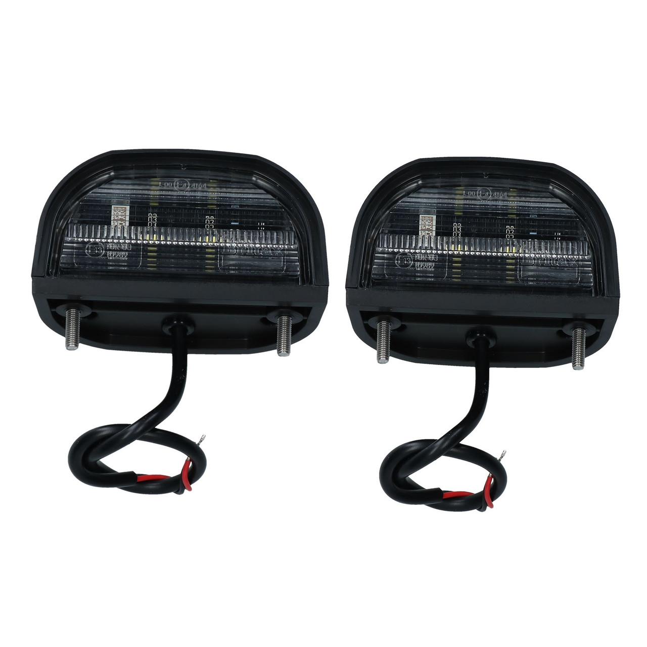 2pk Genuine Britax LED Number Plate Light Lamp Trailer Caravan Classic Car