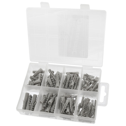 114pc wall plug pack / raw plugs SIL46