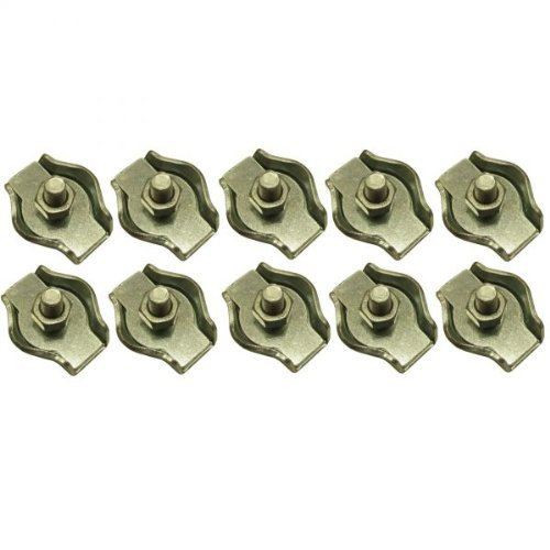 4mm Simplex Wire Rope / Cable Clamp Grips 10 PACK DK27