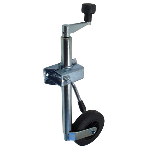 34mm Jockey Wheel with Clamp for Camping or Goods Trailer TR004