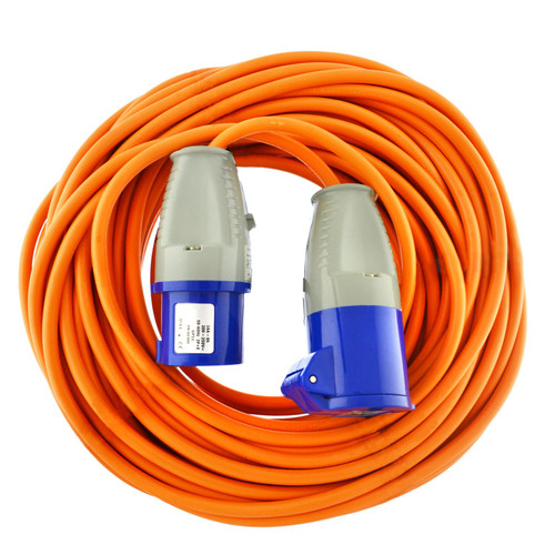 Caravan Hook Up Cable / Boat Shore Power Lead 25m 230v 16A TR178