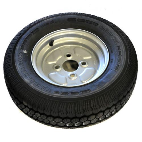 100mm PCD Trailer Wheel & 145 R10 8 PLY Radial Tyre TRSP01