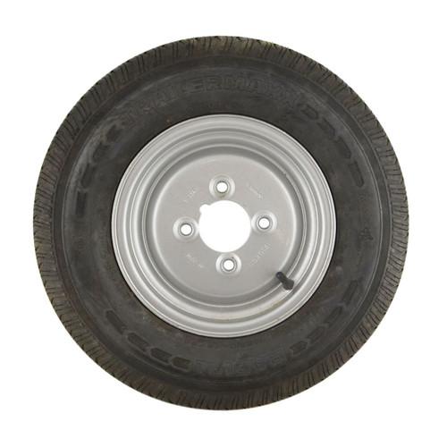 """145 R10 Mini Wheel Rim Tyre 8PLY 4 Stud 23.5mm Offset 4"""" PCD 84/82N TRSP21"""