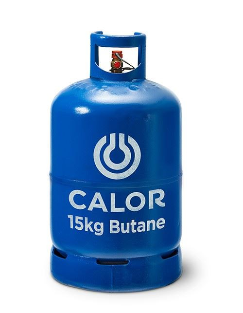 15kg Butane Calor Gas Bottle (Blue - Collection Only)
