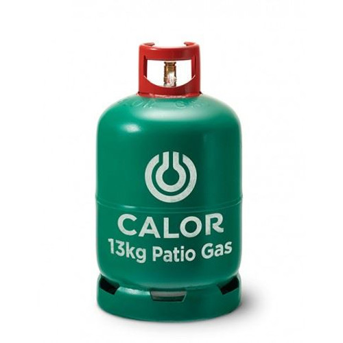 13kg Patio Calor Gas Bottle (Green - Collection Only)