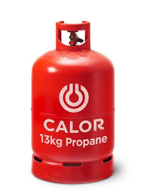 13kg Propane Calor Gas Bottle (Red - Collection Only)