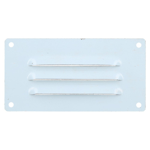 127mm x 66mm Stainless Steel Small Horizontal Vent