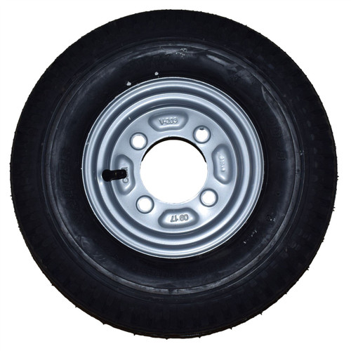 Spare Wheel & Tyre with Mounting Bracket for Erde & Daxara 120 121 122 Trailer