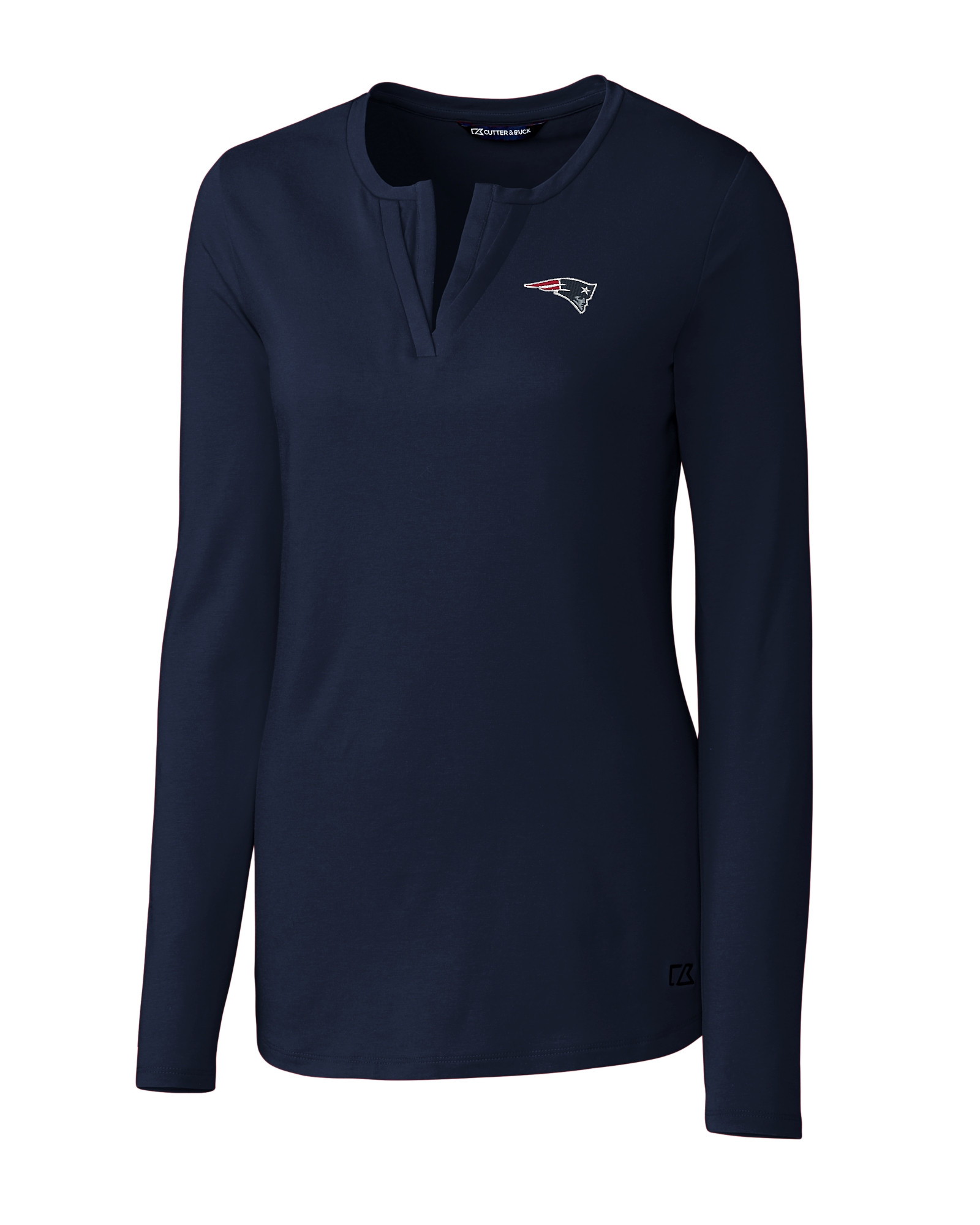23a61caf1d4 New England Patriots Ladies' Avail Double V-Neck
