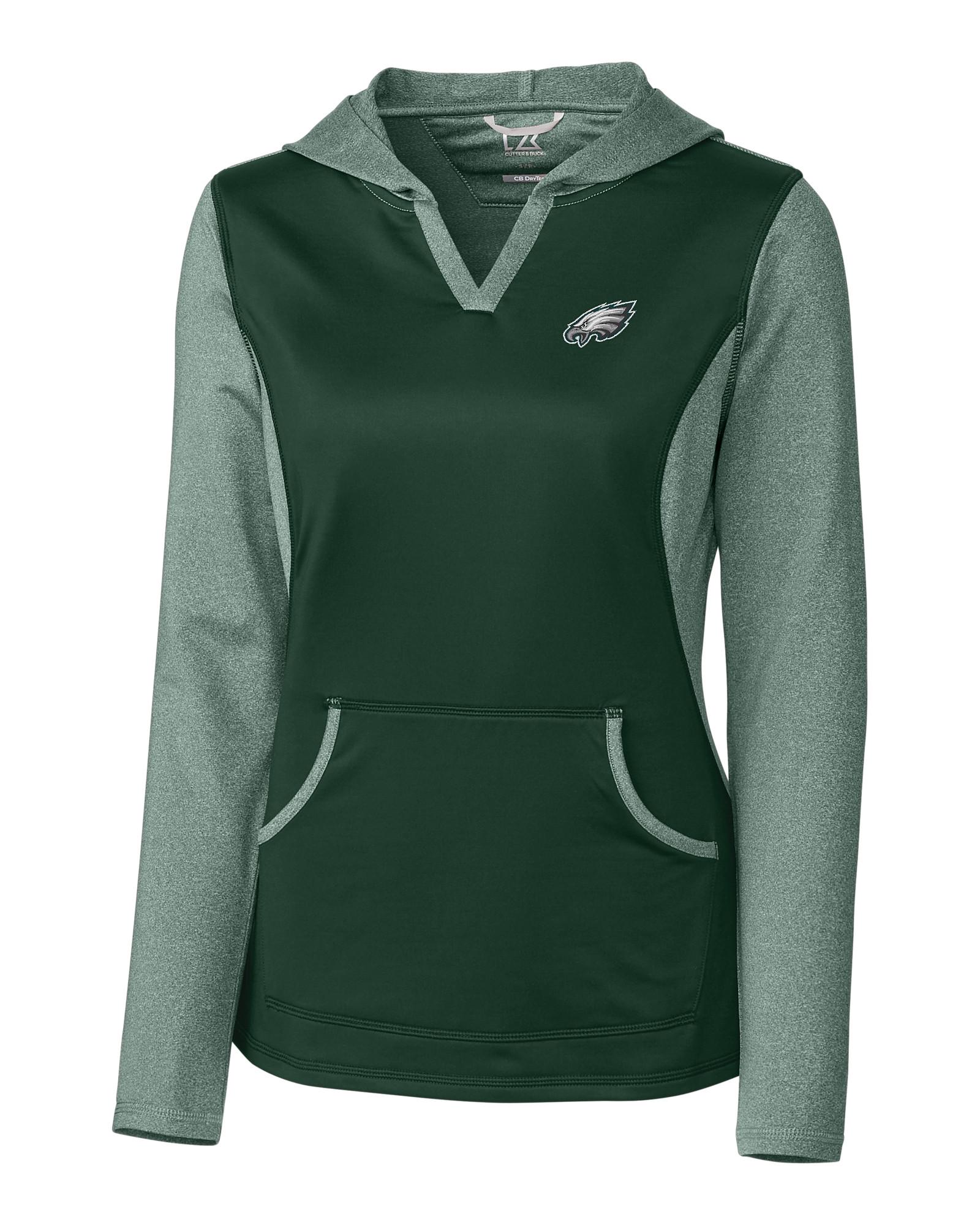 quality design f4c9c bb842 Philadelphia Eagles Ladies' Tackle Hoodie