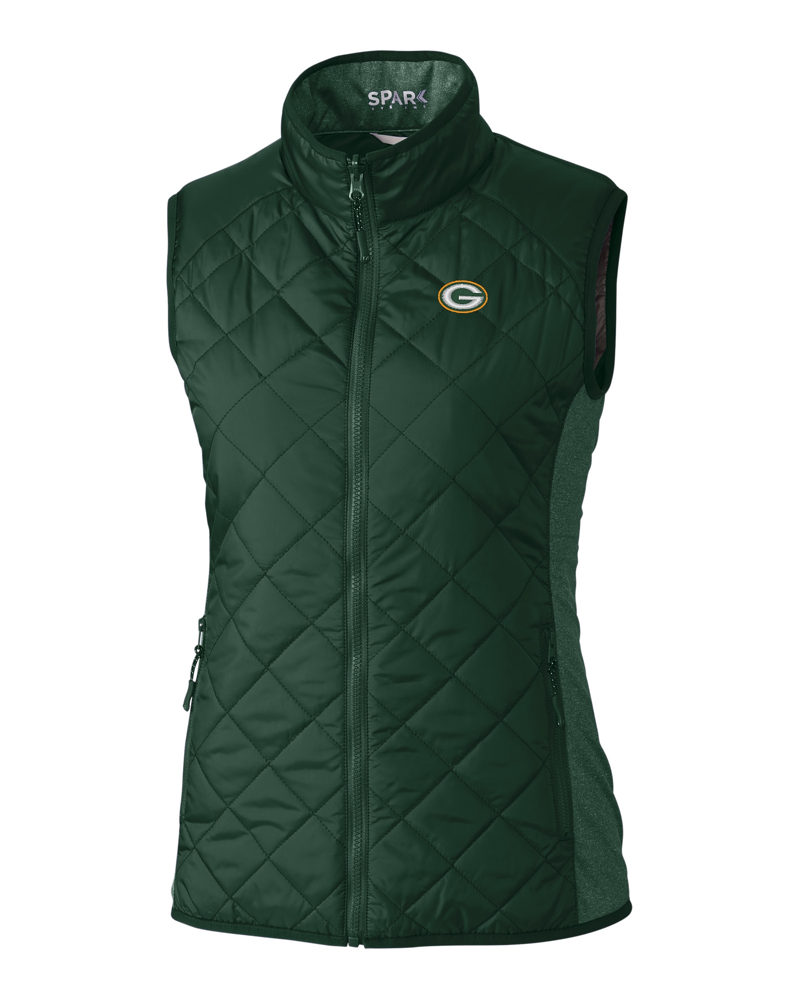 1fbd76f3 Green Bay Packers Ladies' Sandpoint Quilted Vest