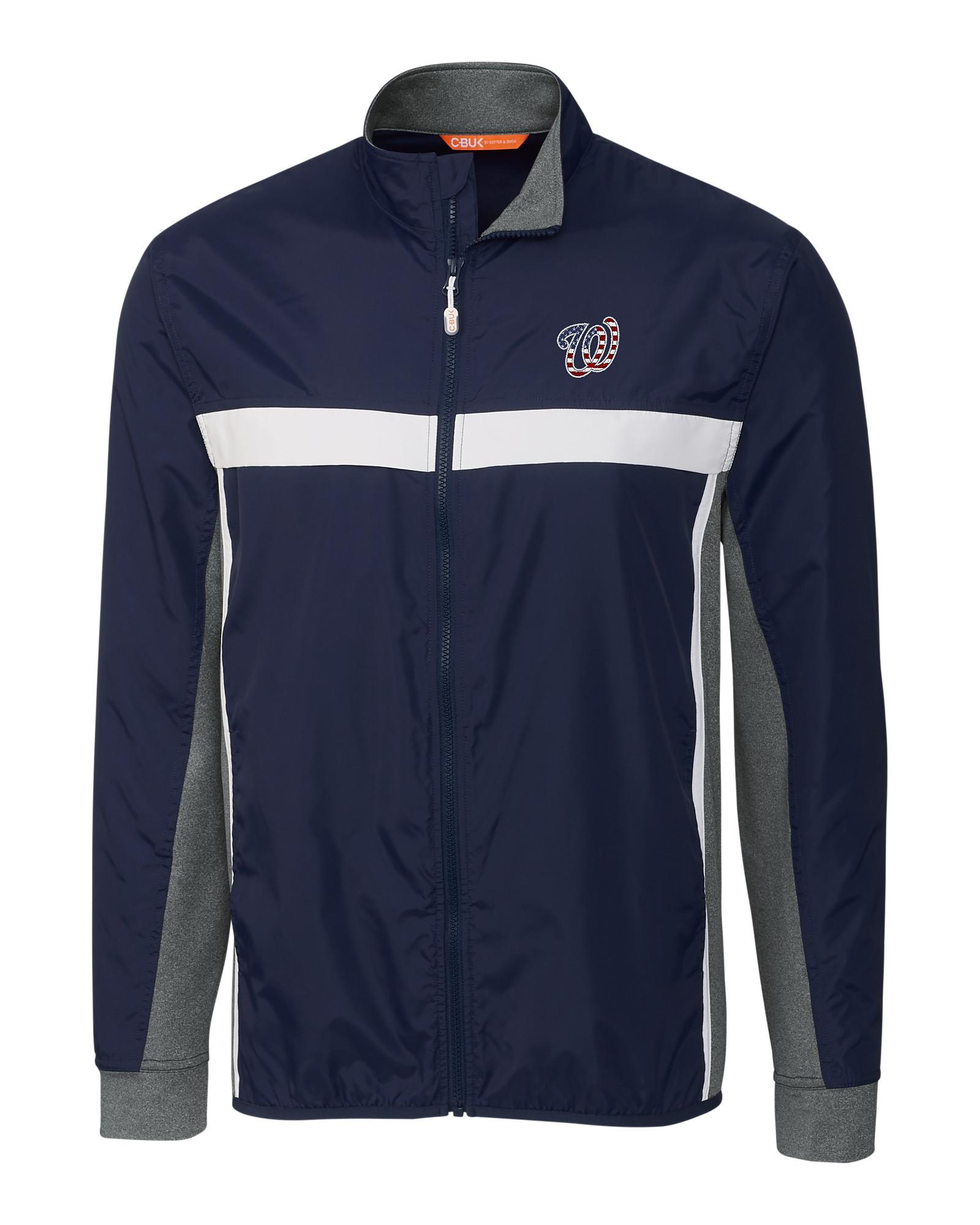 Washington Nationals Americana Men S Swish Full Zip Jacket
