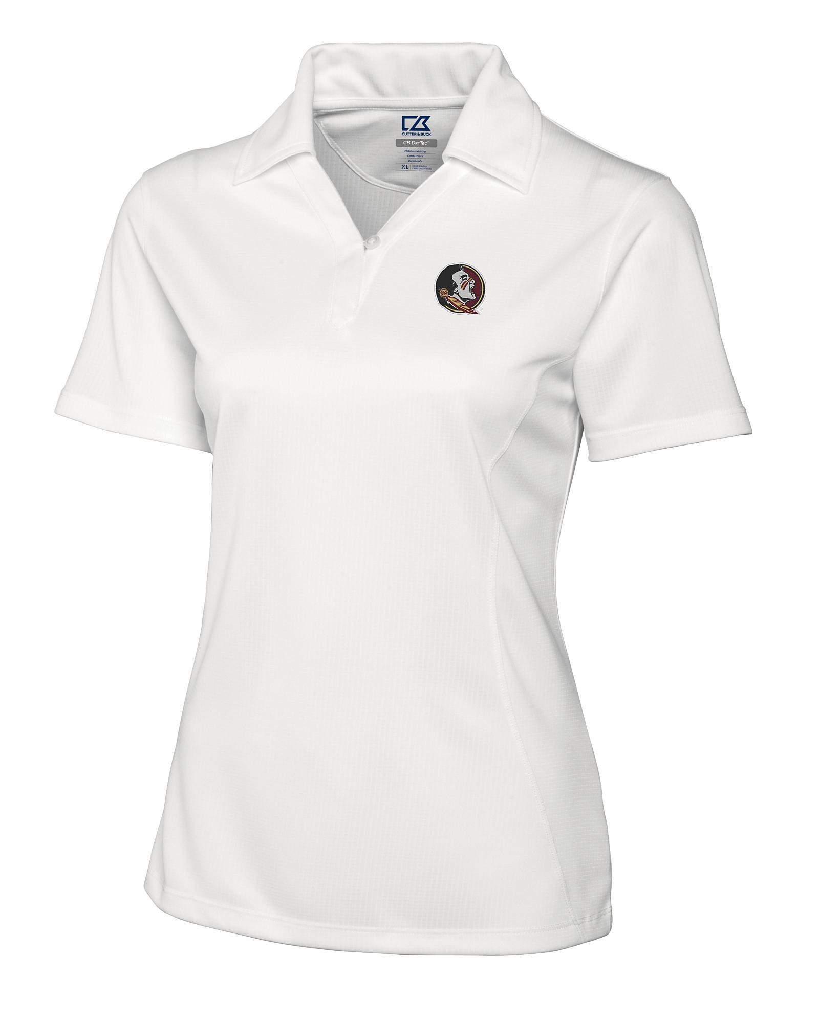 fc6793bb02c Florida State University Seminoles Women's CB DryTec Genre Polo
