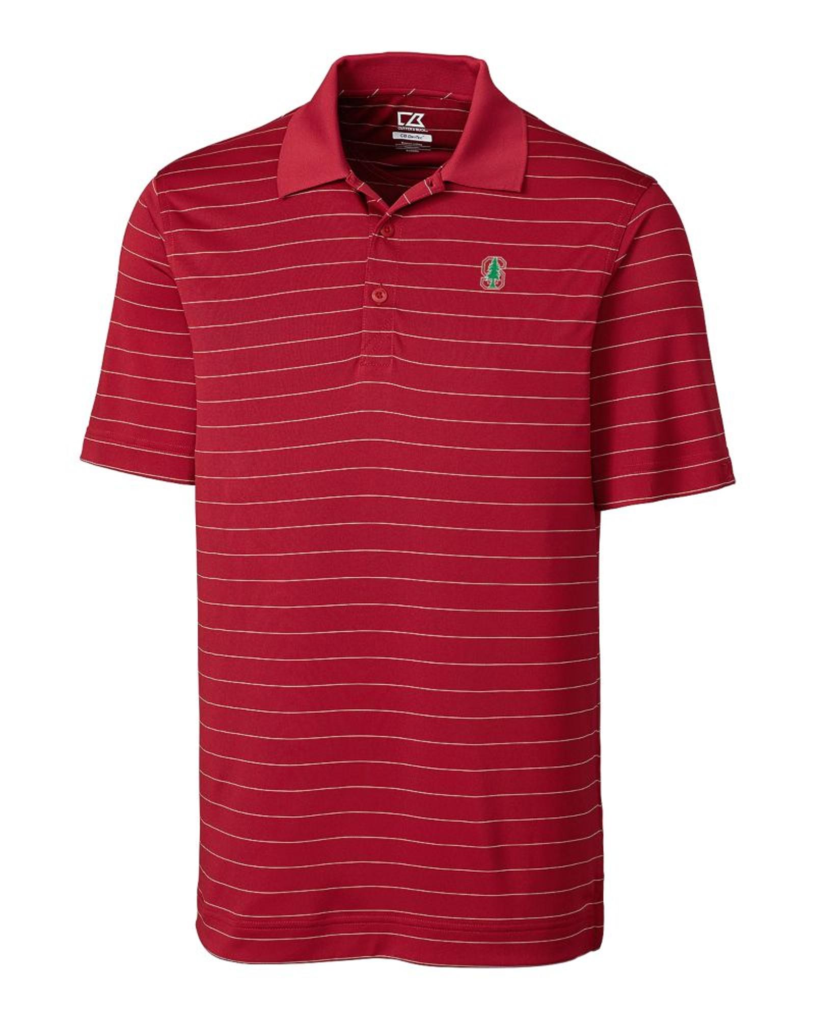 b3f904604a2 Stanford Cardinal CB DryTec Franklin Stripe Polo