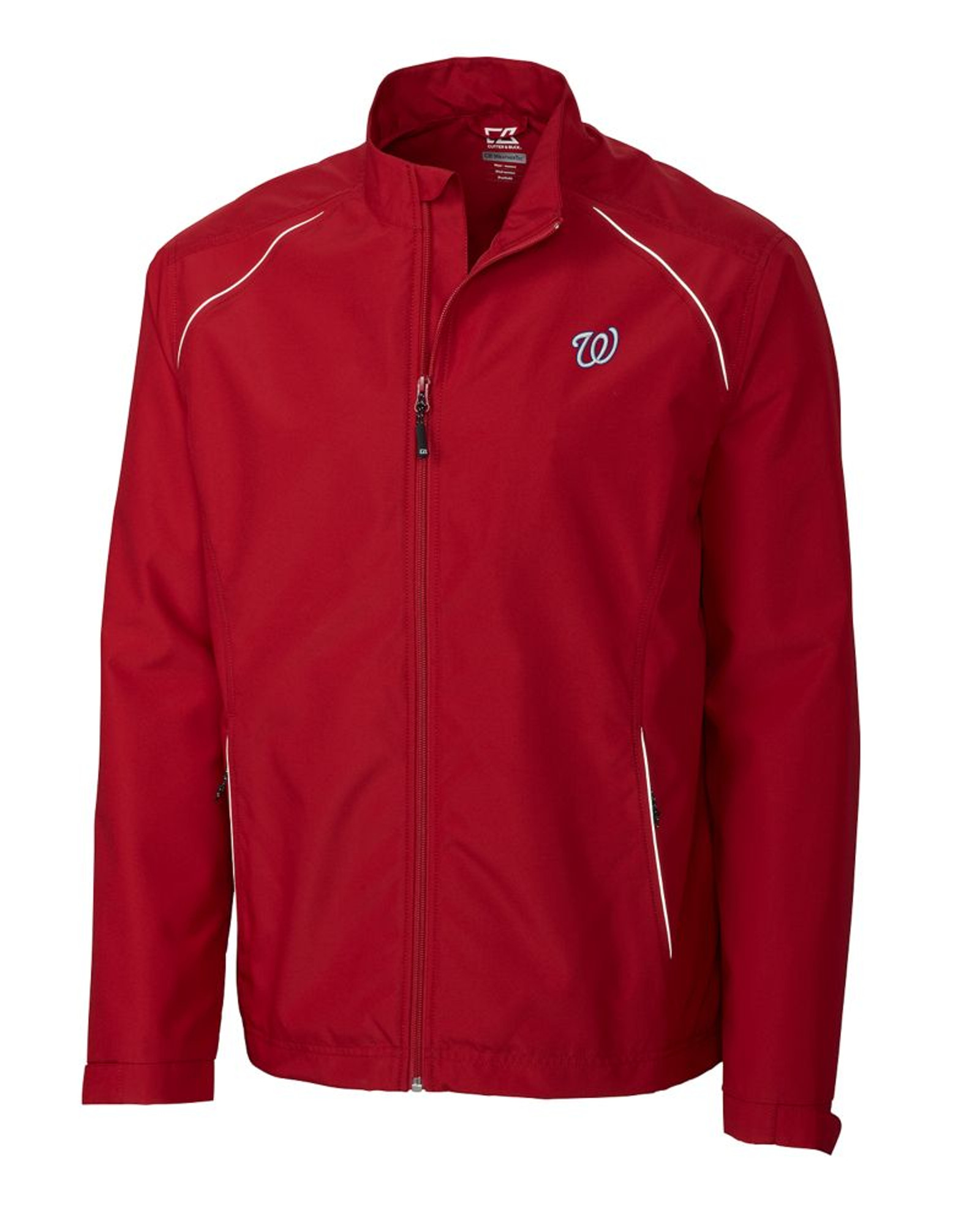 Washington Nationals B T Cb Weathertec Beacon Full Zip Jacket