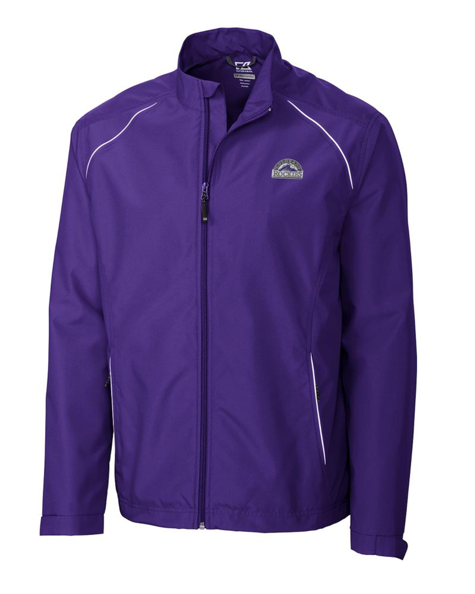 quality design 82545 c01ca Colorado Rockies Men's CB WeatherTec Beacon Full Zip Jacket