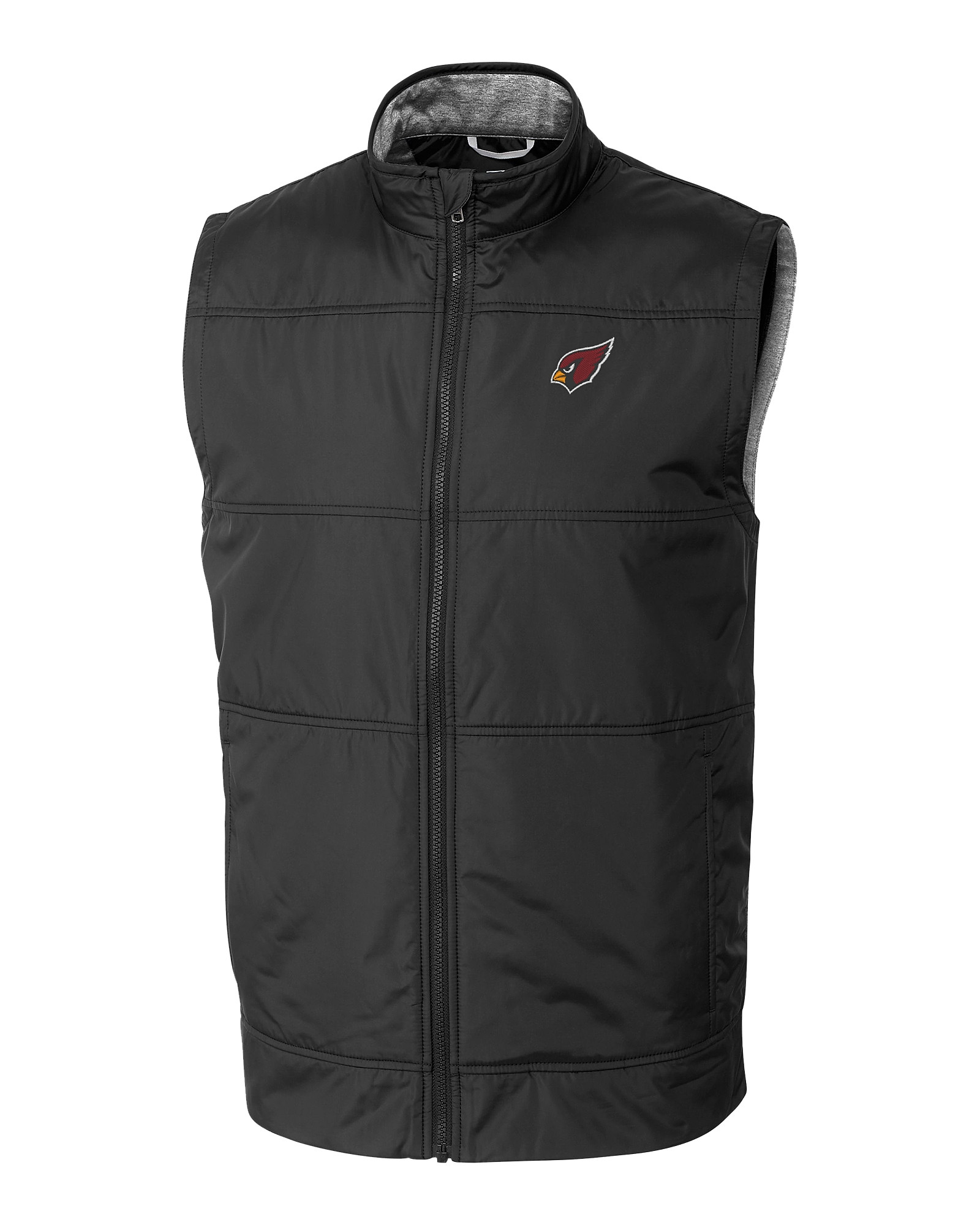 ce3d12fc Arizona Cardinals Stealth Full Zip Vest