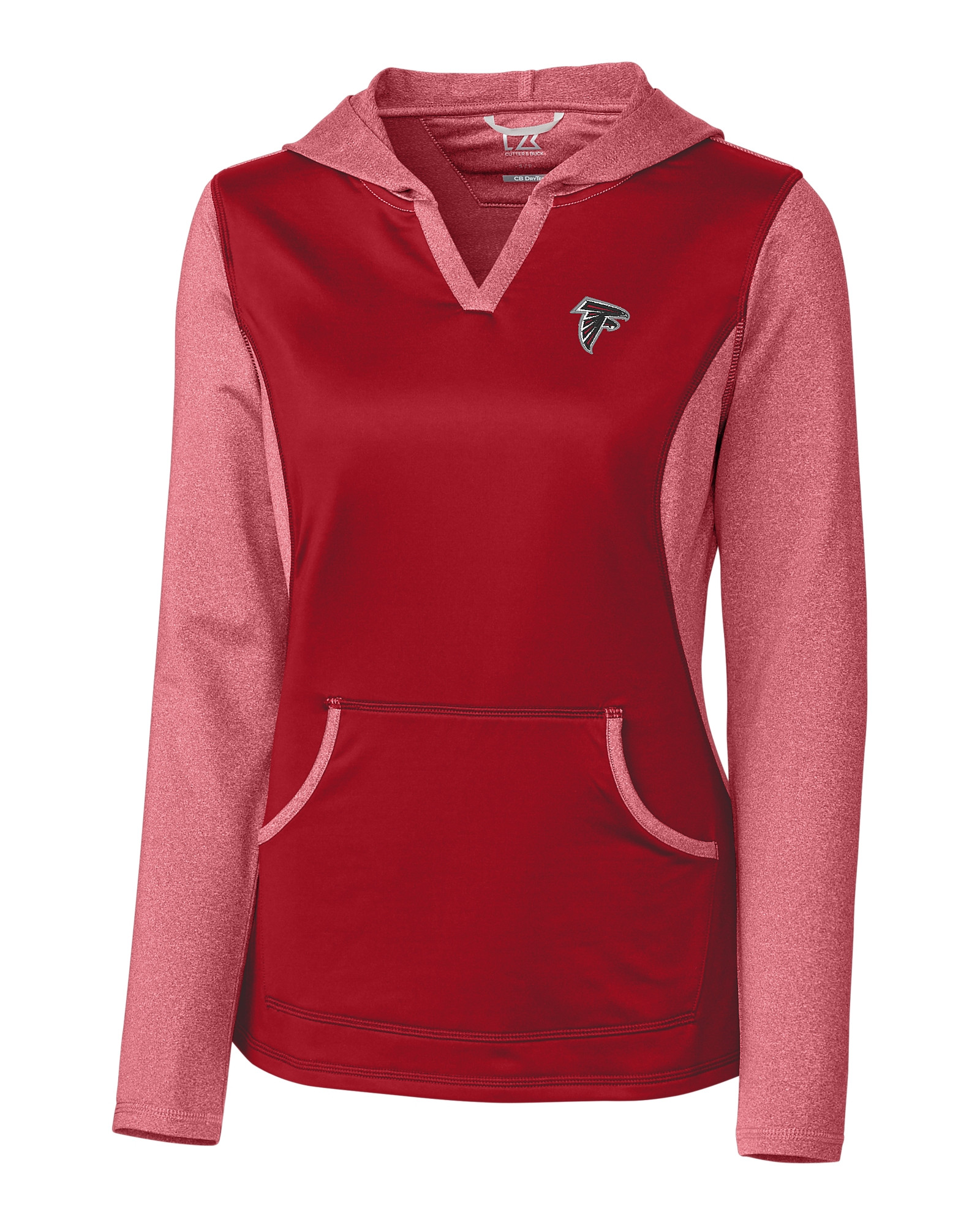 Atlanta Falcons Ladies' Tackle Hoodie Cutter & Buck  hot sale