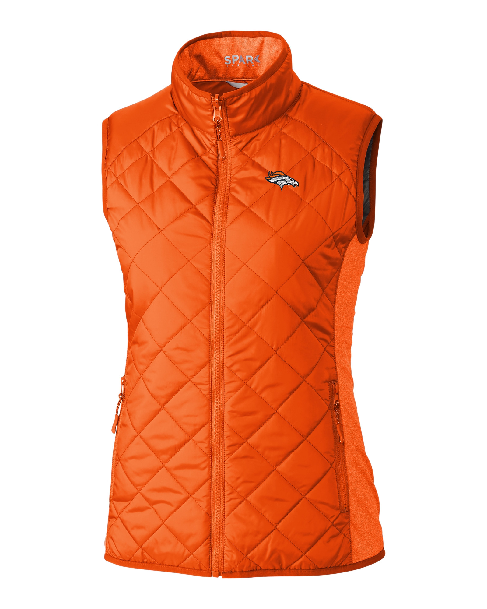 promo code fdc86 9fe62 Denver Broncos Ladies' Sandpoint Quilted Vest