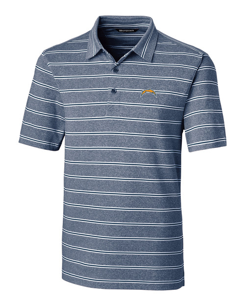 LA Chargers Forge Polo Heather Stripe
